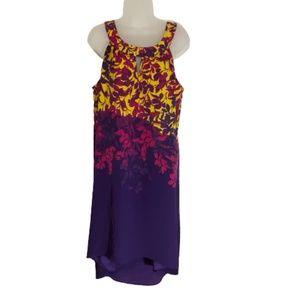 Apt.9 sleeveless high-low dress.